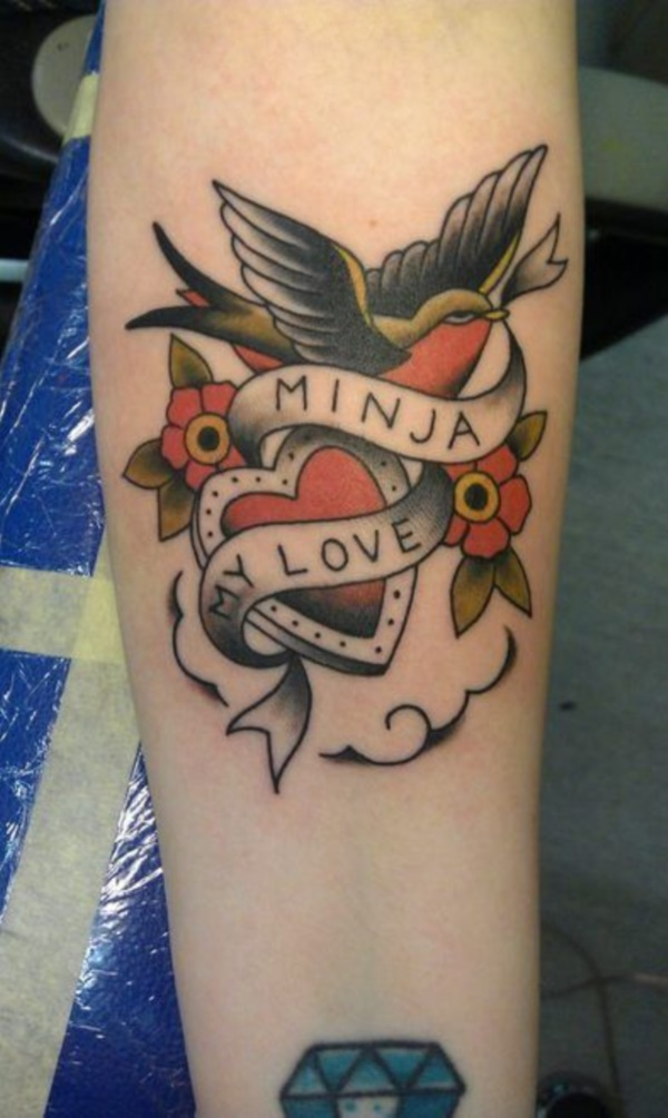 40 Adorable Ideas Of Tattoos With Kids' Names Ideas And Designs