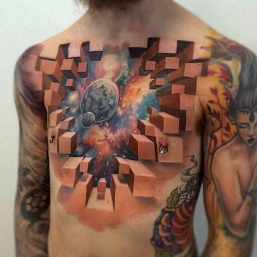 Incredibly Beautiful Space Tattoos Best Tattoo Ideas Gallery Ideas And Designs