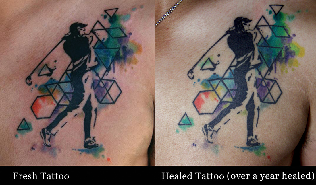 How Will Watercolor Tattoos Age Deanna Wardin Ideas And Designs
