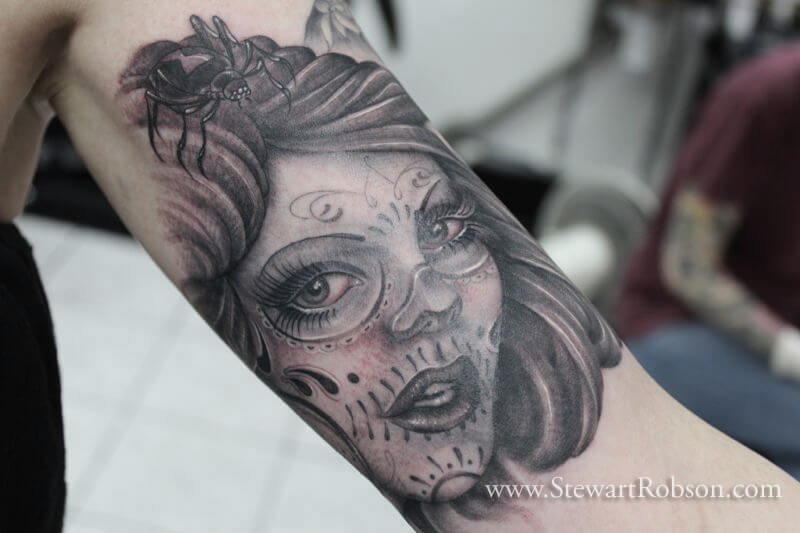 40 Mexican Candy Skull Tattoos Ideas And Designs