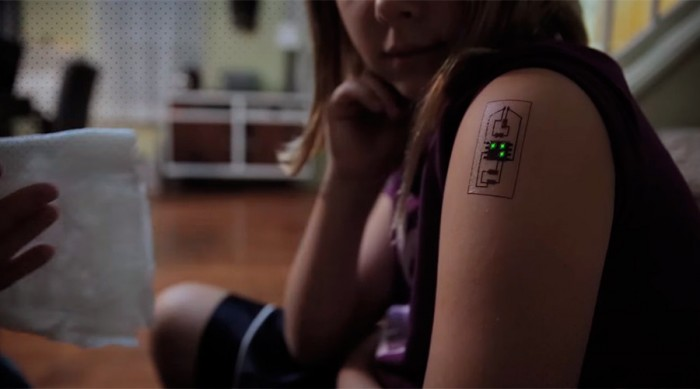 Biometric Tattoos Raise The Bar In Wearable Technology Ideas And Designs