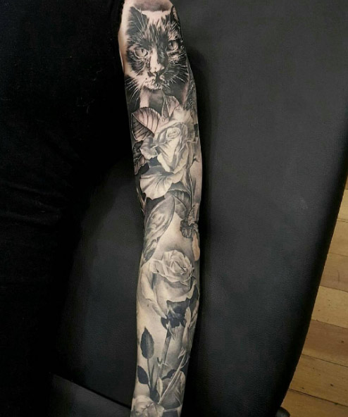 40 Attractive Sleeve Tattoos For Women Tattooblend Ideas And Designs