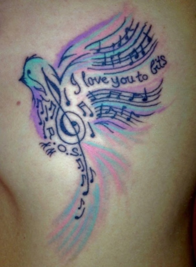 20 Music Tattoos Tattoofanblog Ideas And Designs