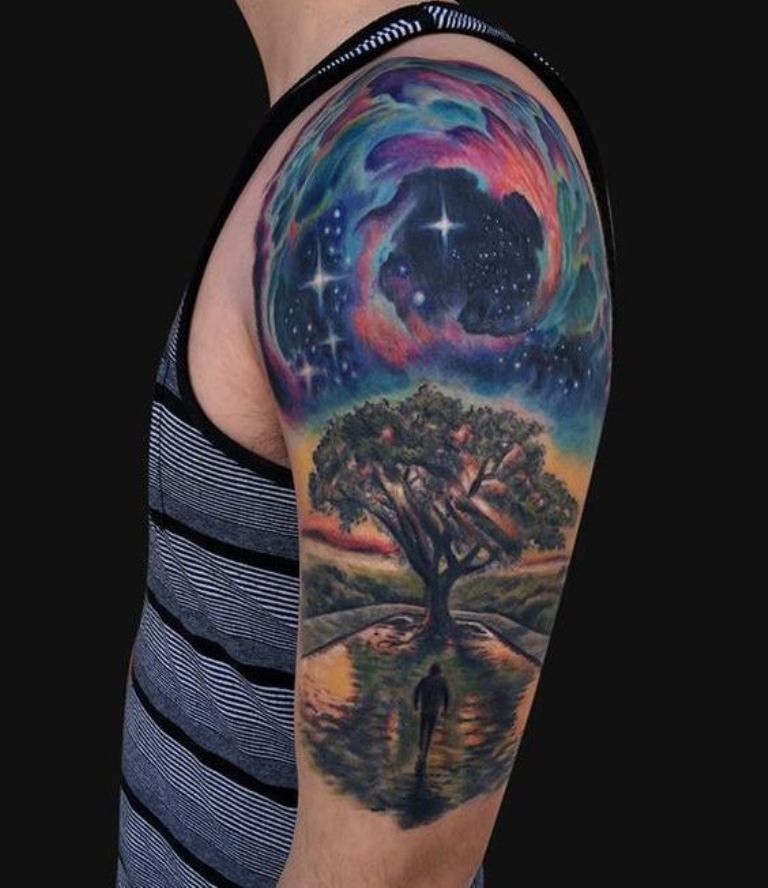 30 Tree Tattoos Tattoofanblog Ideas And Designs