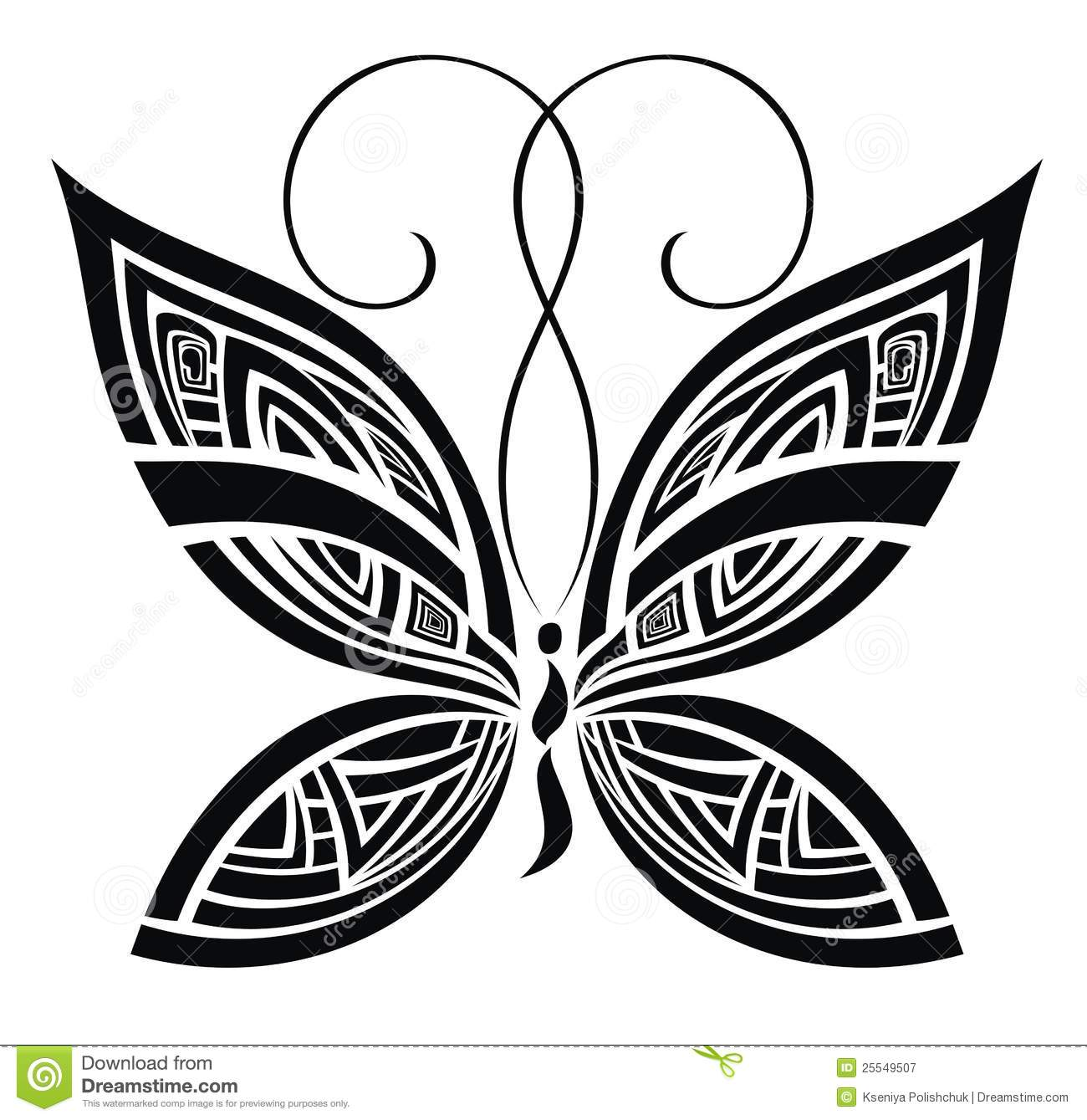 Abstract Butterfly Vector For Your Design Stock Vector Ideas And Designs