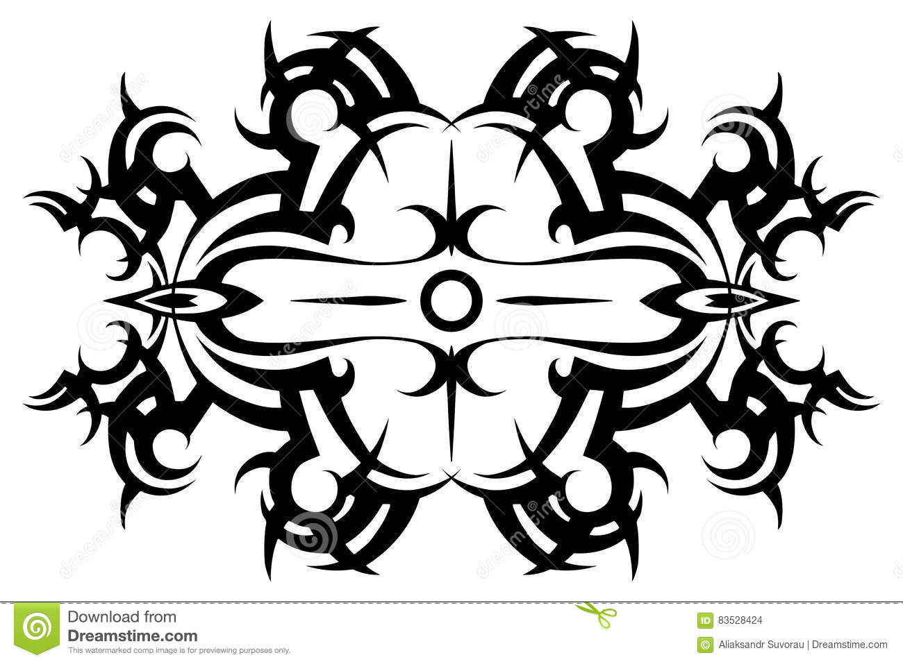 Tribal Tattoo Vector Tribal Tattoo Stencil Pattern Ideas And Designs