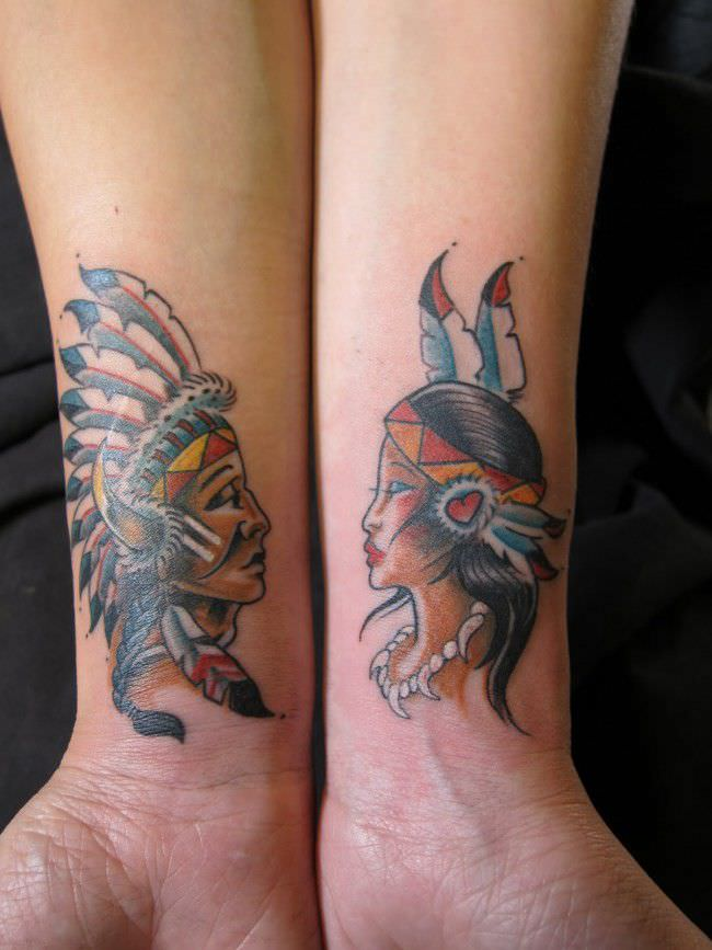 250 Lovely Matching Tattoos For Couples Wild Tattoo Art Ideas And Designs