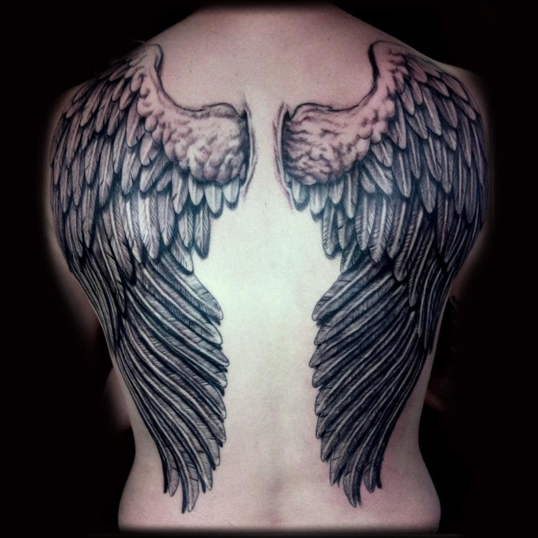 128 Amazing Wing Tattoos To Adorn Your Skin Wild Tattoo Art Ideas And Designs