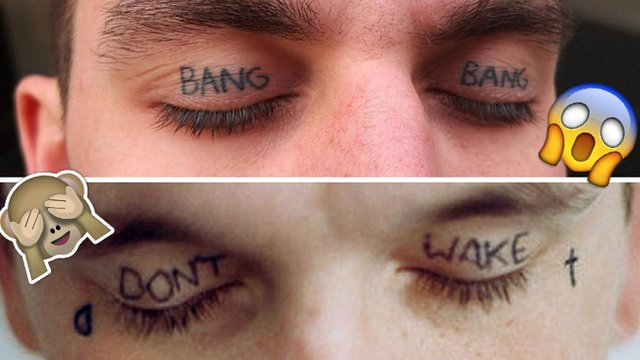 11 Photos Of Eyelid Tattoos That Can Never Be Unseen Popbuzz Ideas And Designs