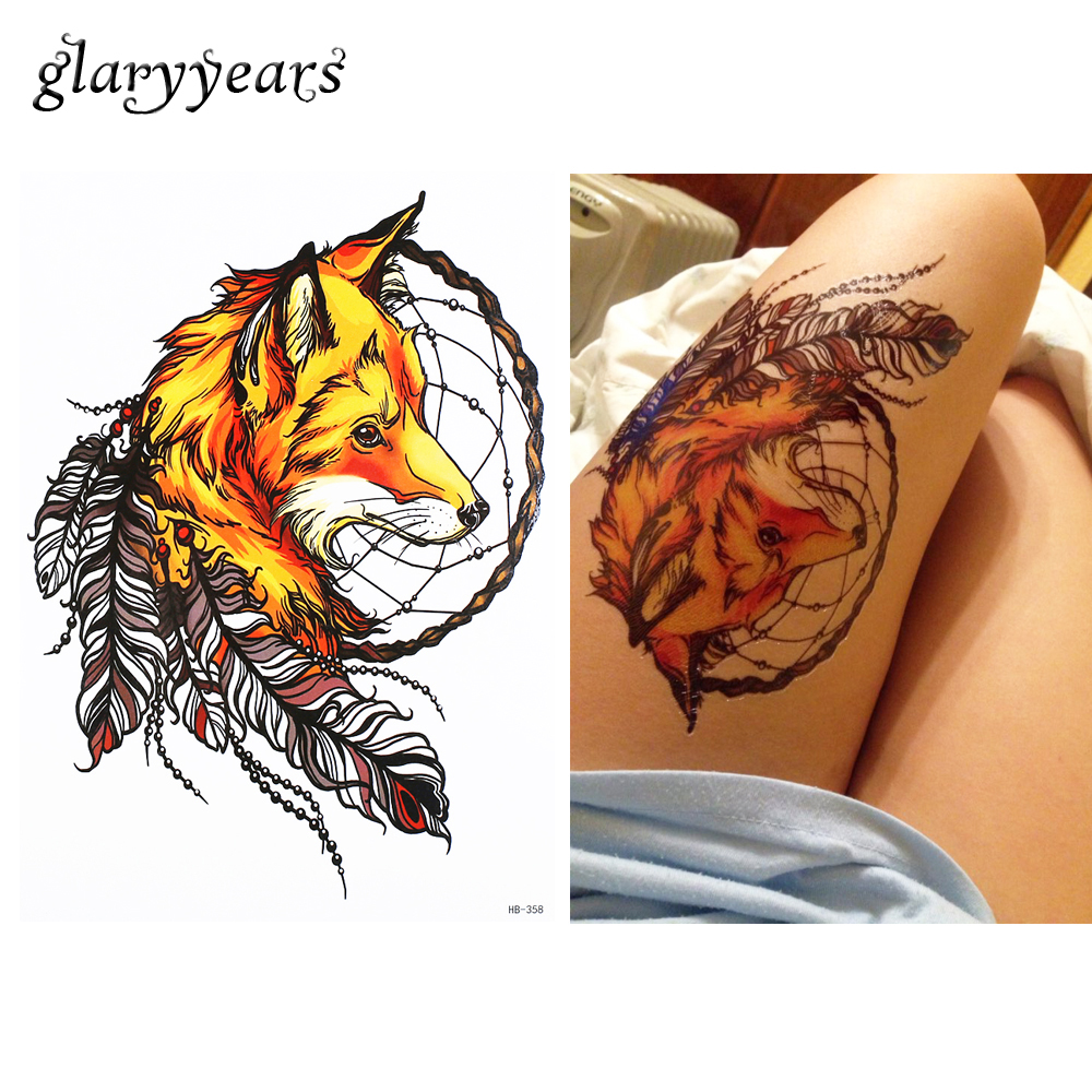 1 Pc Waterproof Fake Temporary Tattoo Sticker Hb358 Tribe Ideas And Designs