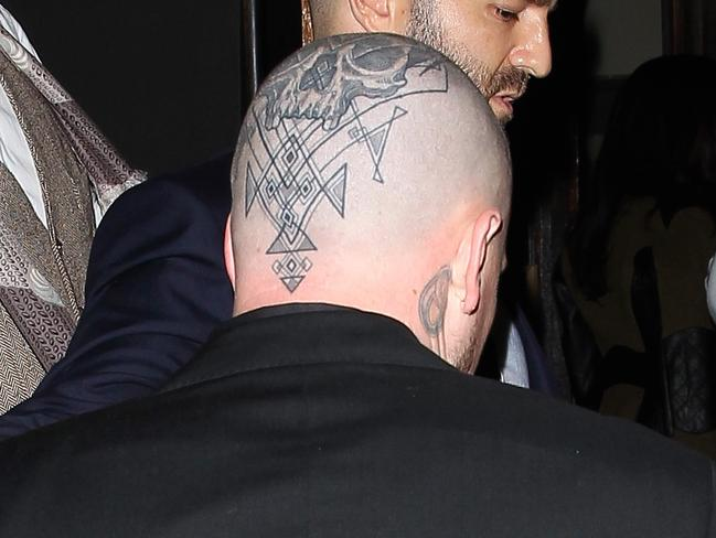 Benji Madden Debuts Massive Head Tattoo While Out With Ideas And Designs