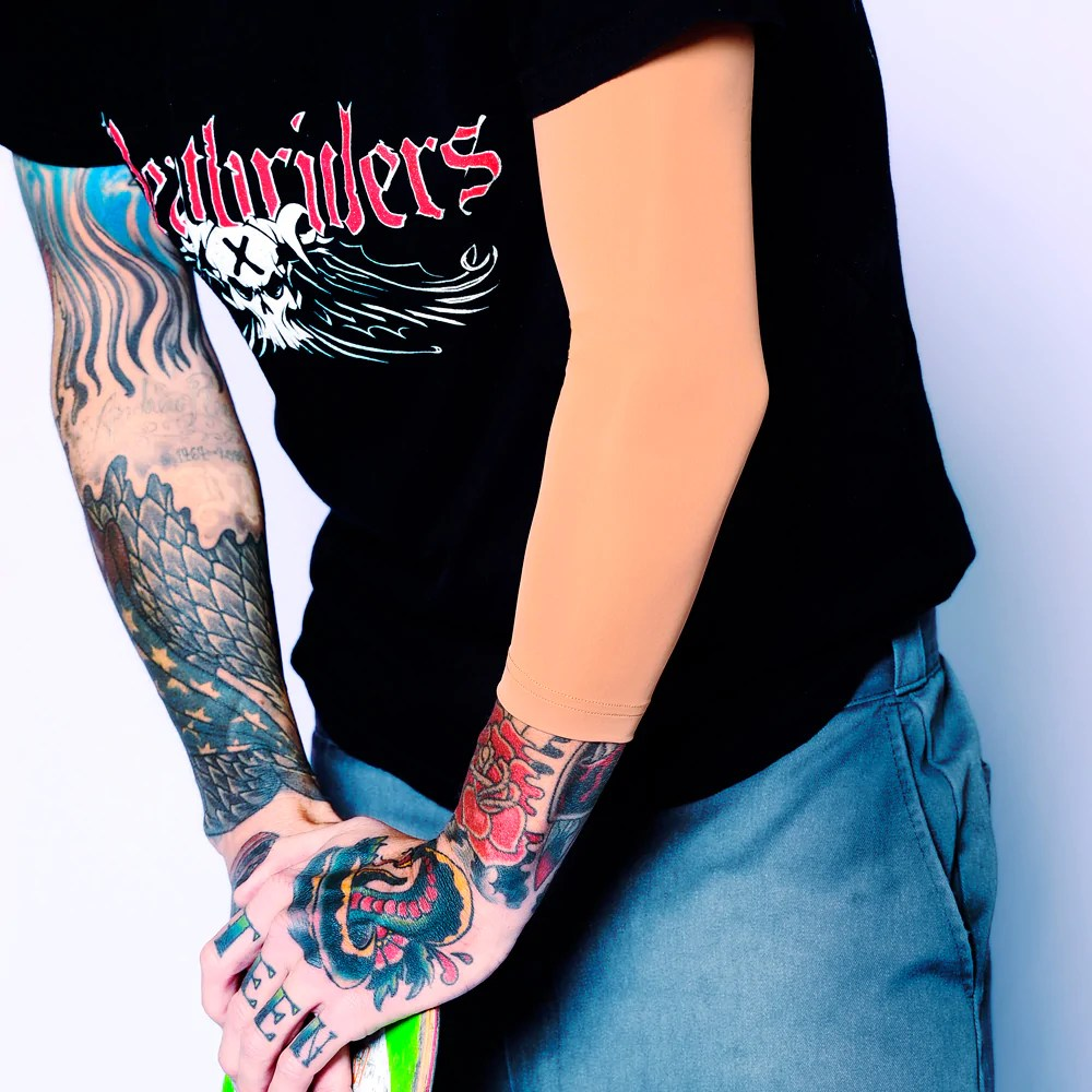 Tat2X Ink Armor Sleeves Made The In Usa Tattoo Cover Up Ideas And Designs