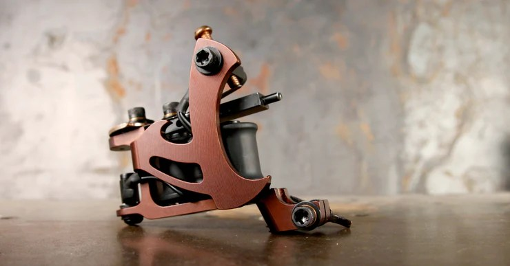 Aaron Cain Octet Liner Tattoo Machines Workhorse Irons Ideas And Designs