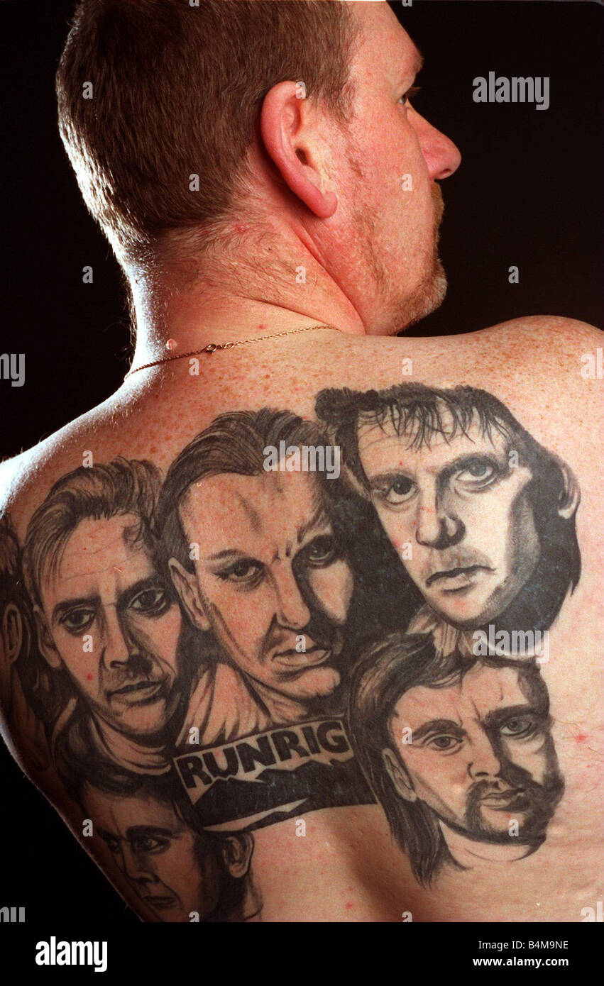 Andy Drummond Who Has The Group Runrig Tattoo Ed On His Ideas And Designs Original 1024 x 768