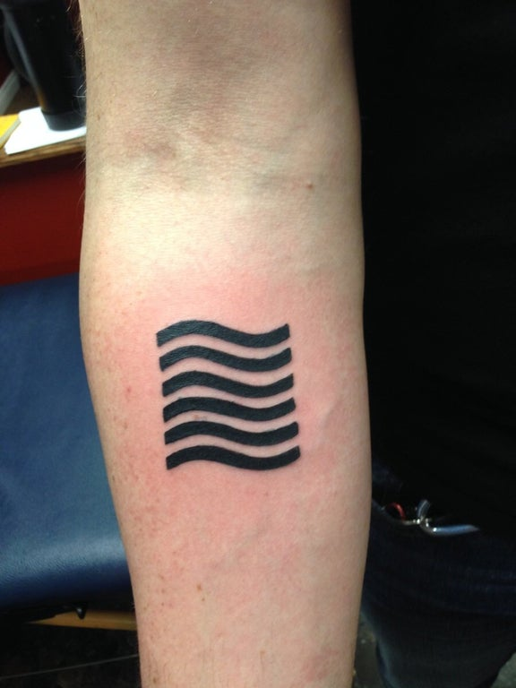 My First Tattoo The Water Symbol From The 5Th Element Ideas And Designs