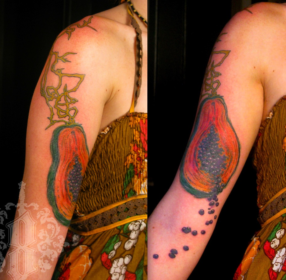 Fruit Tattoo Eight Of Swords Tattoo Ideas And Designs