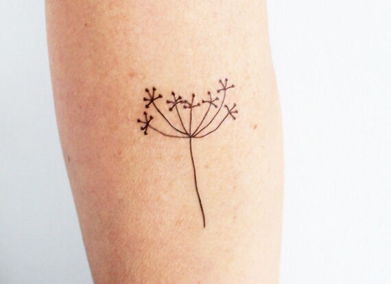 3 Hand Drawing Flower Temporary Tattoos Minimalist Floral Ideas And Designs