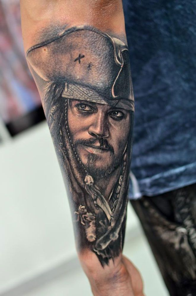 Best 25 Jack Sparrow Tattoos Ideas On Pinterest Pirate Ideas And Designs