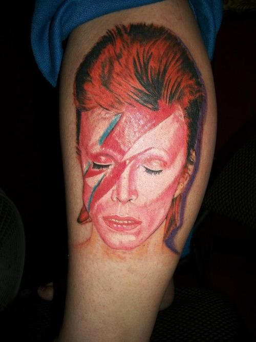 18 Best Bowie Tattoos Images On Pinterest David Bowie Ideas And Designs