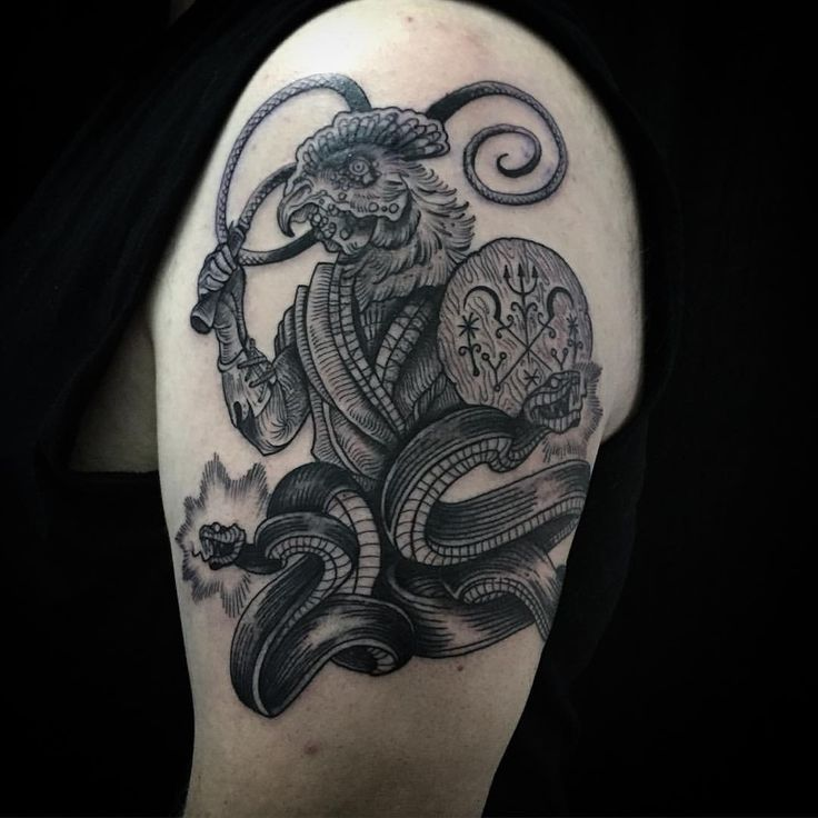 Abraxas Tattoo From Kim Scheed Zur Stecherei In Vienna Ideas And Designs