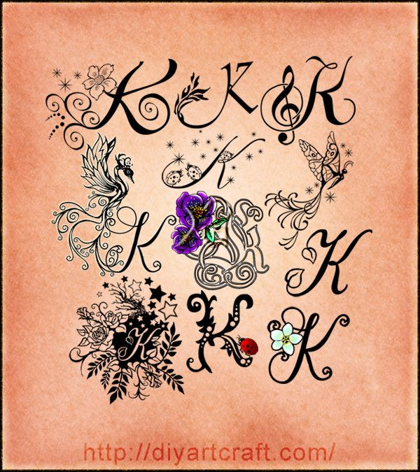 Lettering K Typography Imaginative Typography Ideas And Designs
