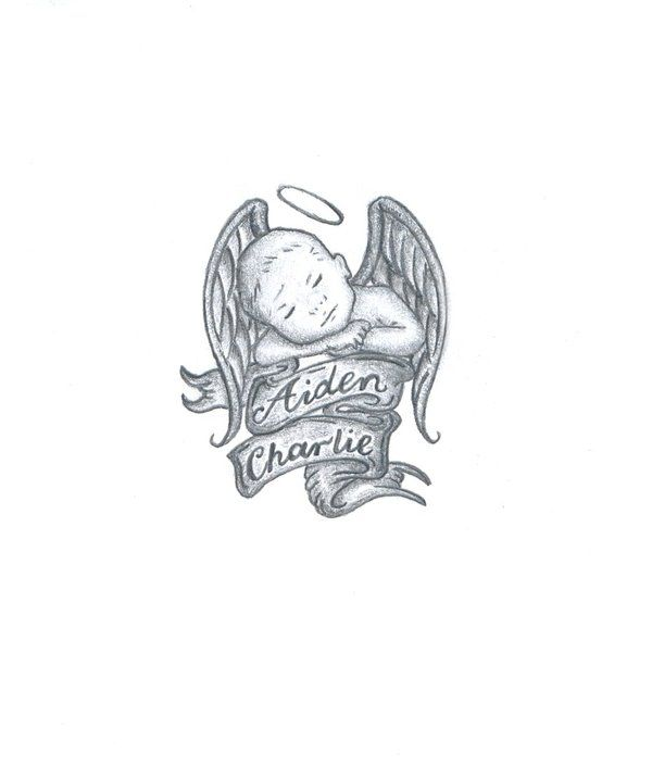 Pin By Toni Ann Patone Scollo On Tattoo S Baby Angel Ideas And Designs
