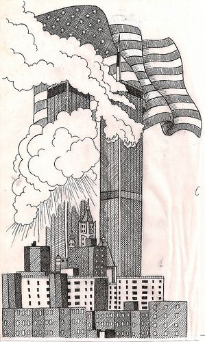 Twin Towers Drawing Google Search Don T Forget The Day Ideas And Designs