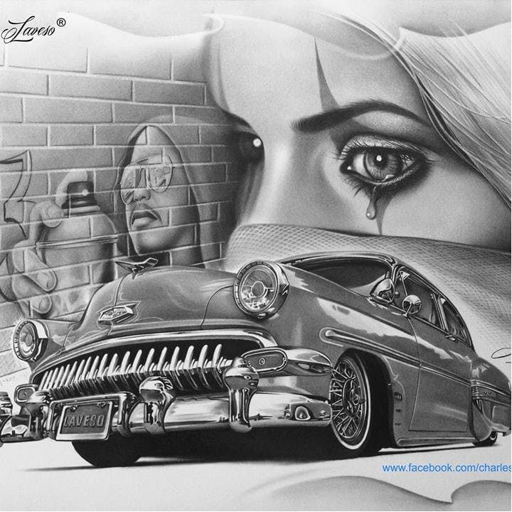Best 25 Lowrider Drawings Ideas On Pinterest Chicano Ideas And Designs