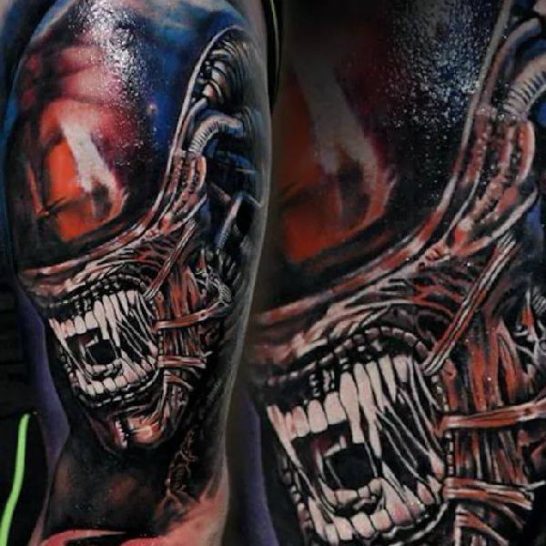 17 Best Xenomorph Tattoos Images On Pinterest Tattoo Ideas And Designs