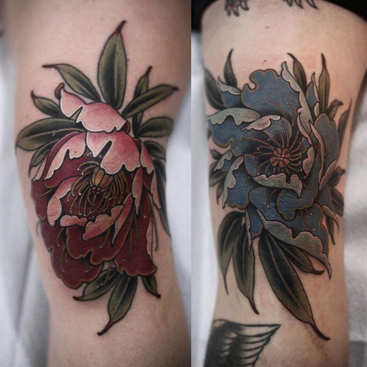 Best 25 Knee Tattoo Ideas On Pinterest Bee And Flower Ideas And Designs