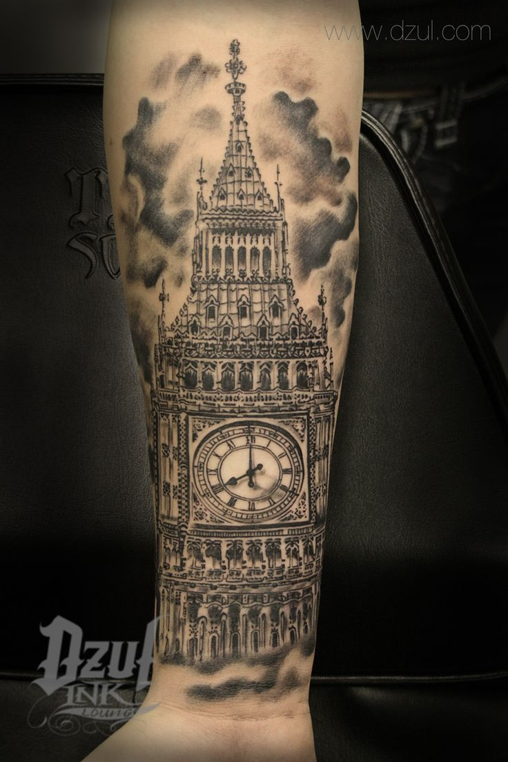 Best Architecture Tattoo Big Ben Tattoo Best Black And Ideas And Designs