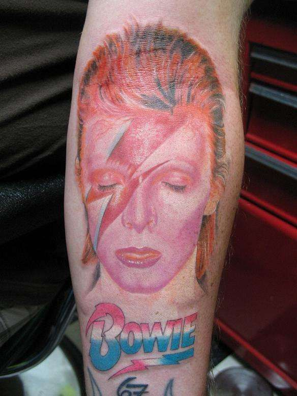 Aladdin Sane Ziggy⚡️ Bowie Tattoo David Tattoo David Ideas And Designs