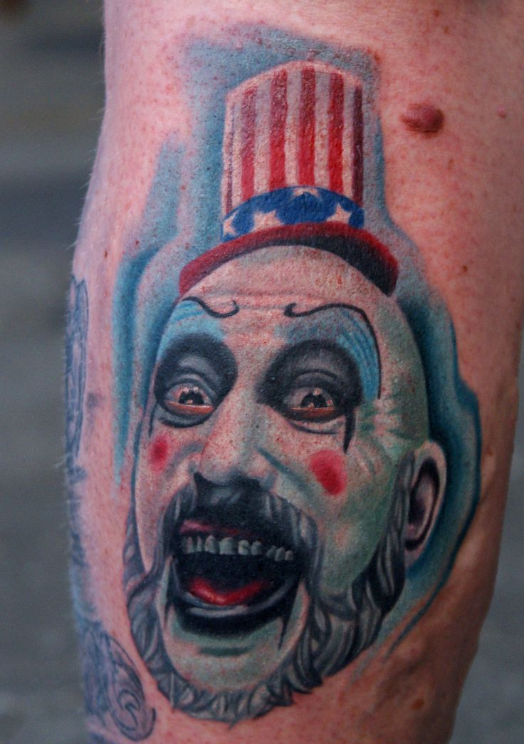 68 Best Captain Spaulding Tattoos Images On Pinterest Ideas And Designs