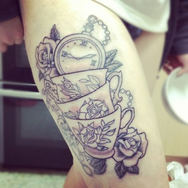 176 Best Alice In Wonderland Tattoos Images On Pinterest Ideas And Designs
