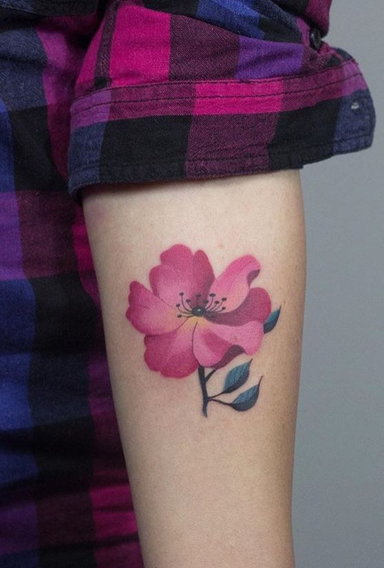 25 Beautiful 3D Flower Tattoos Ideas On Pinterest Name Ideas And Designs