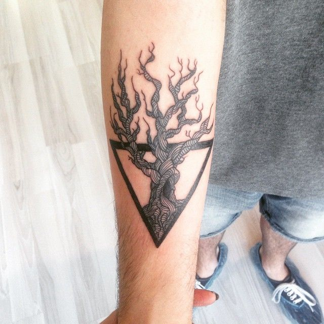 Best 25 Triangle Tattoo Meanings Ideas On Pinterest Ideas And Designs