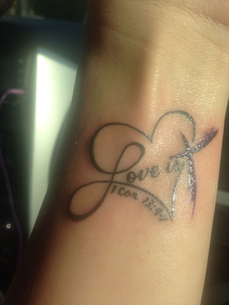 The Heart And Love Tattoo My Husband And I Can Up With My Ideas And Designs