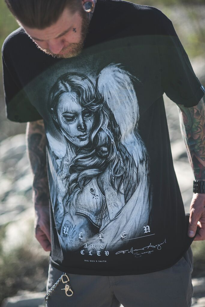 Fallen Love Tee By Tattoo Artist Big Gus And Ryan Smith Ideas And Designs