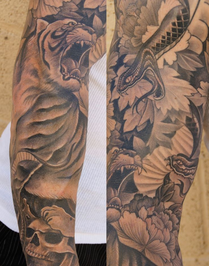 30 Best 3 4 Sleeve Asian Style Tattoos For Men Images On Ideas And Designs