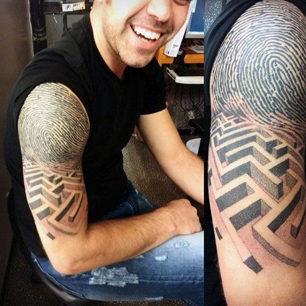 34 Best 3D Sleeve Tattoos For Men Images On Pinterest Arm Tattoos Sleeve Tattoos And Tatoos Ideas And Designs