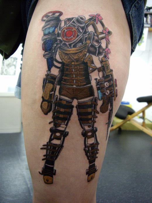 15 Best ★ Bioshock Tattoos ★ Images On Pinterest Ideas And Designs