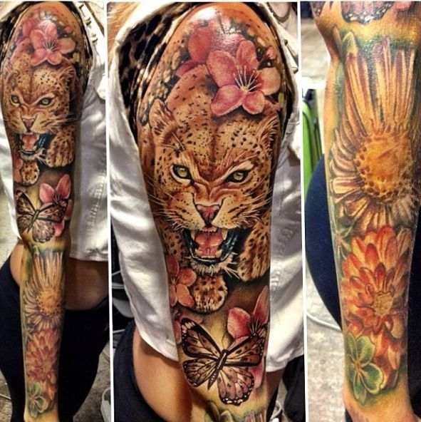 Beautiful Tattoo Perfect Half Sleeve Or Even Full Sleeve Ideas And Designs