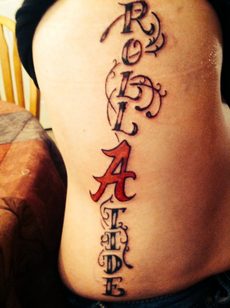 8 Best Alabama Tattoo Images On Pinterest Alabama Ideas And Designs