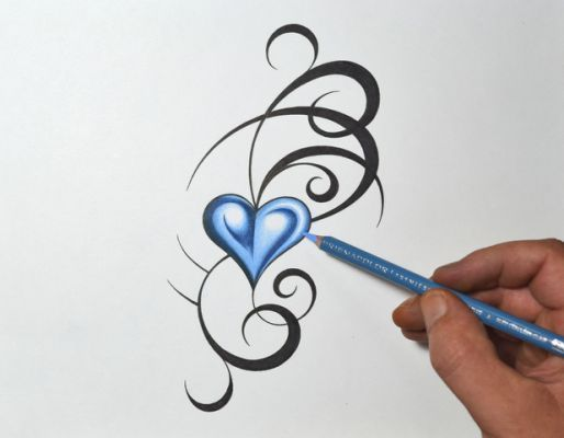 Top Tribal Heart Tattoos Images Foot Tattoos Tattoos Ideas And Designs