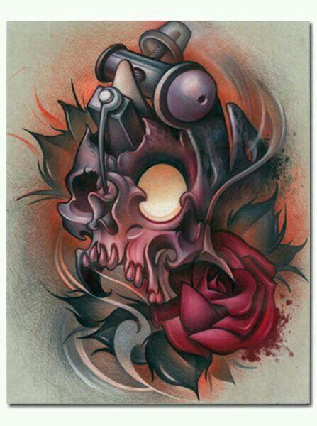 Pin By Hayden Turner On Pencil Drawings Tattoos Skull Ideas And Designs