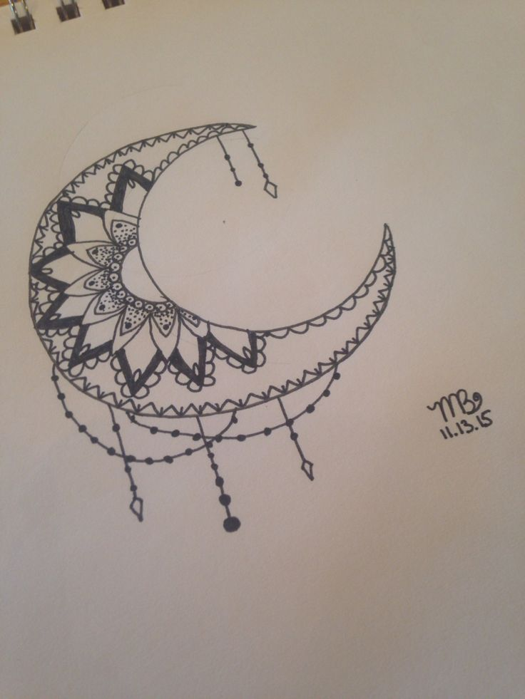 11 Best 5 Point Star And Crescent Moon Tattoo Images On Ideas And Designs