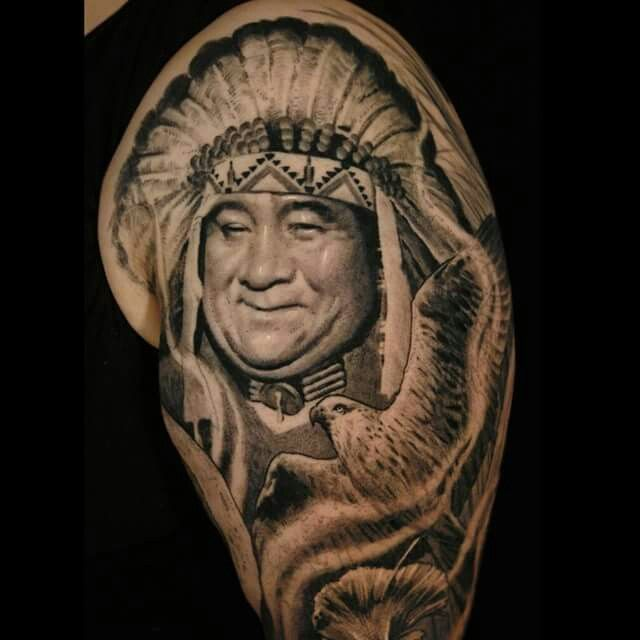 Chief By Sergio Sanchez Tattoos By Sergio Tattoos Ideas And Designs