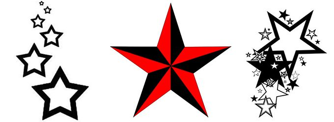 Meaning Symbolism Of Famous Star Tattoos Ideas And Designs