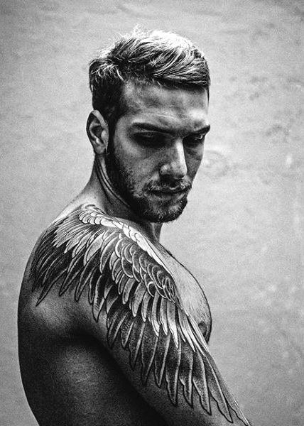 Top 100 Best Wing Tattoos For Men Designs That Elevate Ideas And Designs