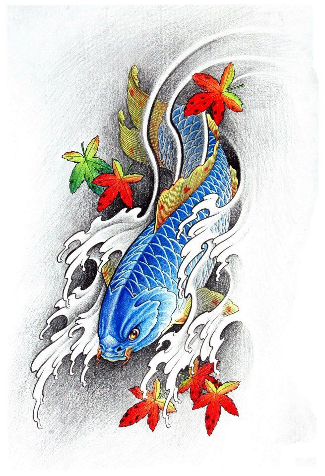 96 Best Koi Fish Images On Pinterest Japanese Painting Ideas And Designs
